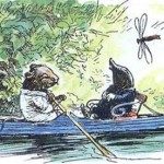 'Simply messing about in boats' ... EH Shepard's illustration of Ratty and Mole. Photograph: EH Shepard/PA