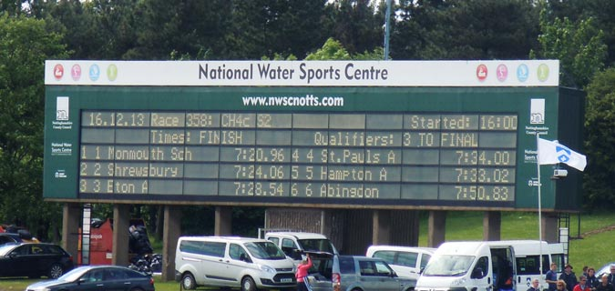 National Schools Regatta – another Rowing Mother