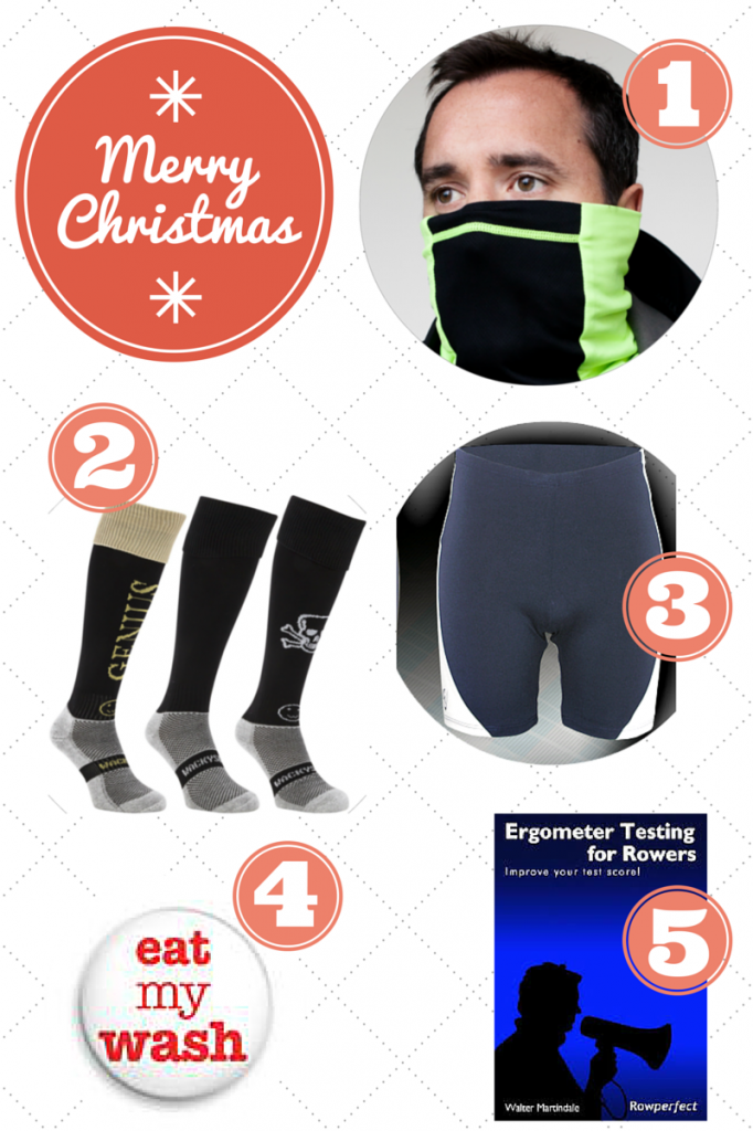 Christmas gifts for male rowers