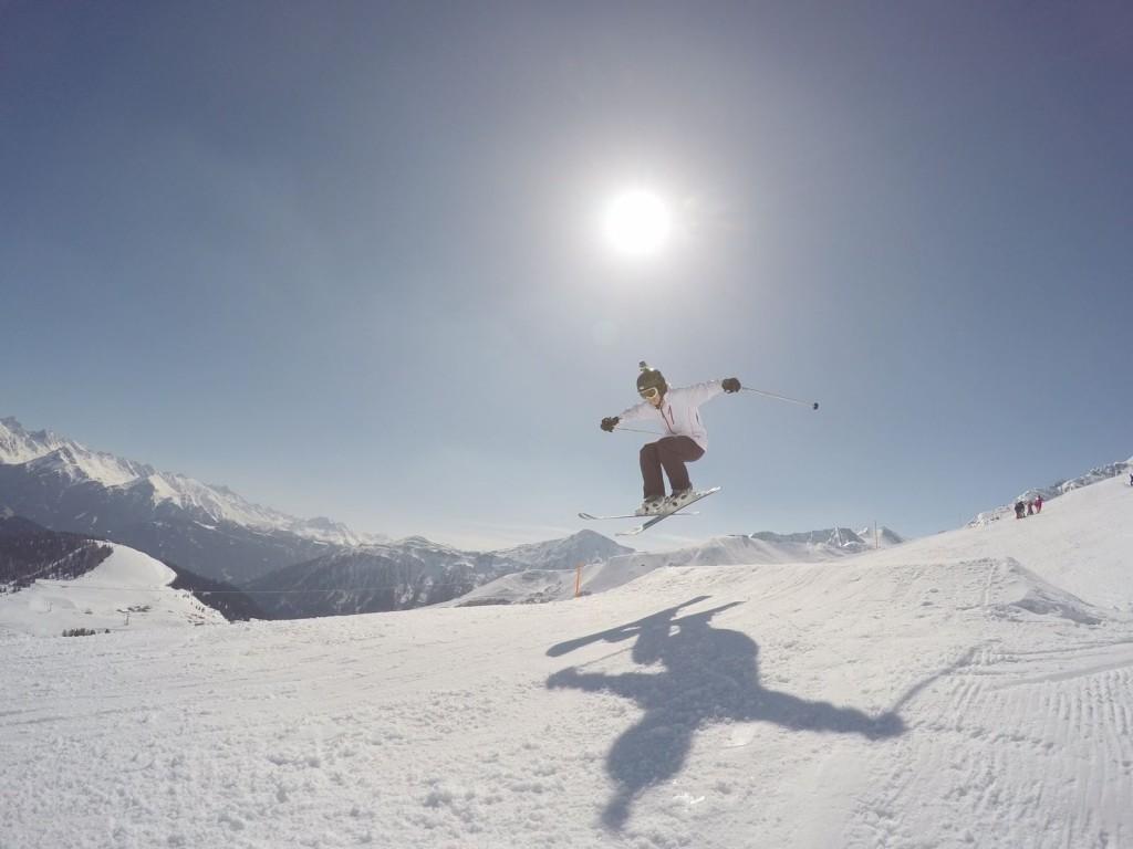 Got air... GoPro pic by Johannes Östergård