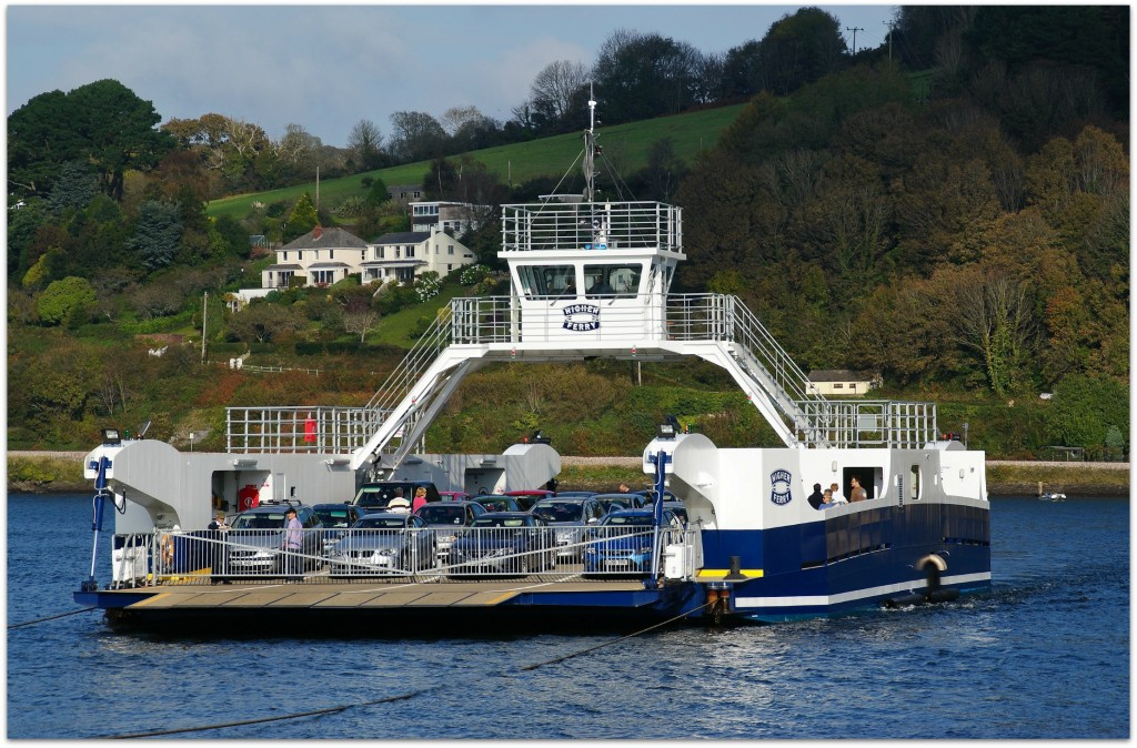 Cheese slicer. Also known as Dartmouth chain ferry. (Image by Herbythyme)