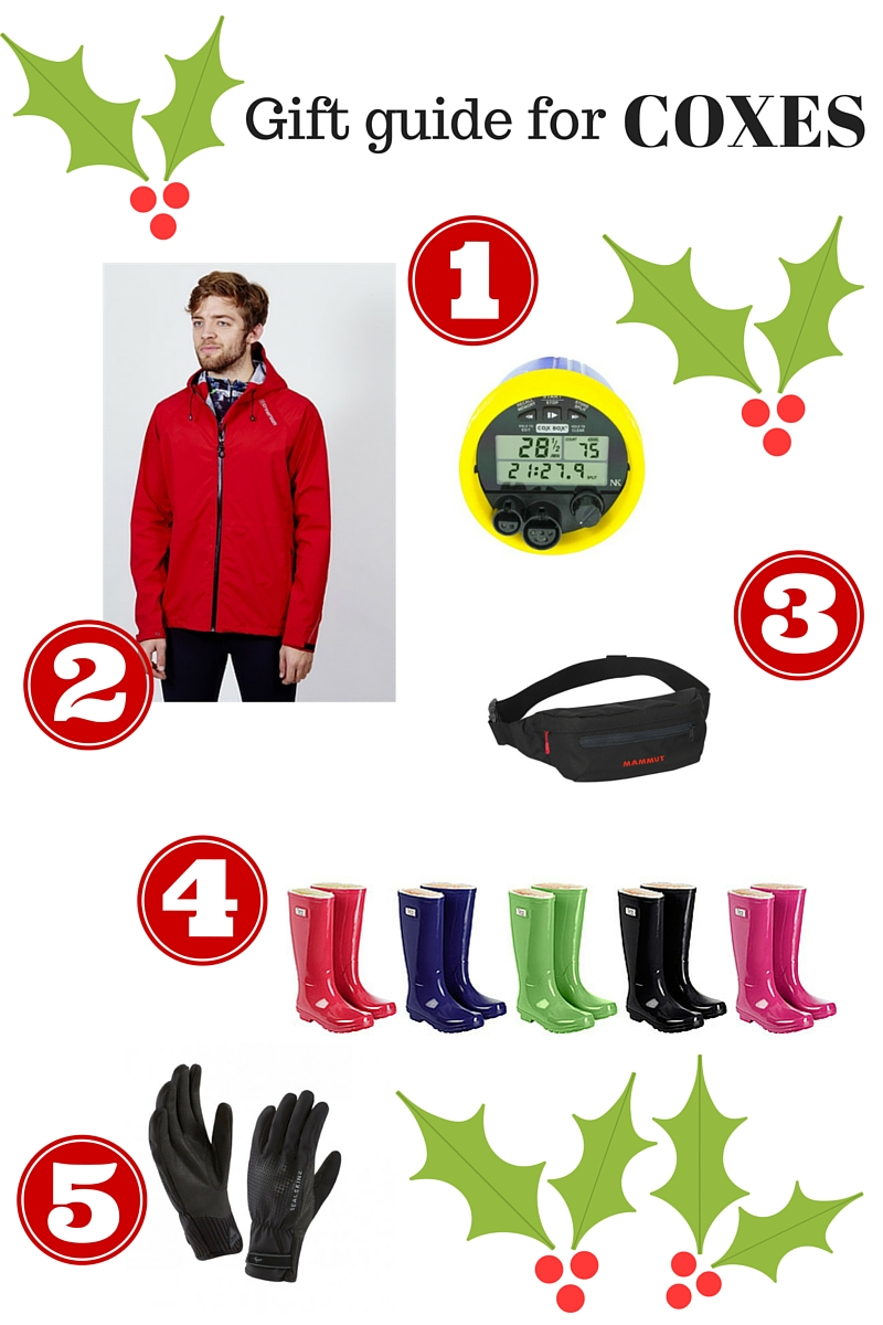 Christmas gift guide for coxes
