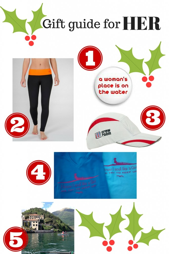 Christmas gifts for women rowers