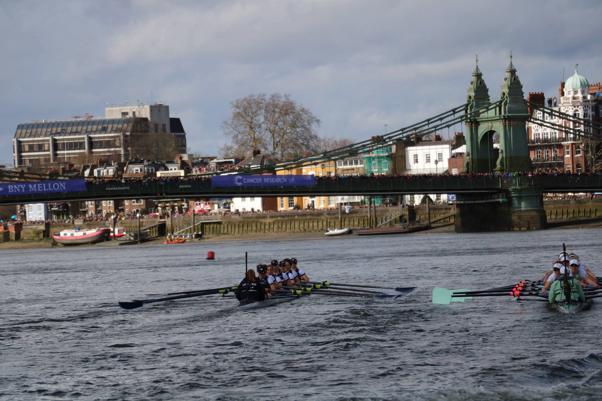 The Boat Race 2016 – and how women's rowing was the winner
