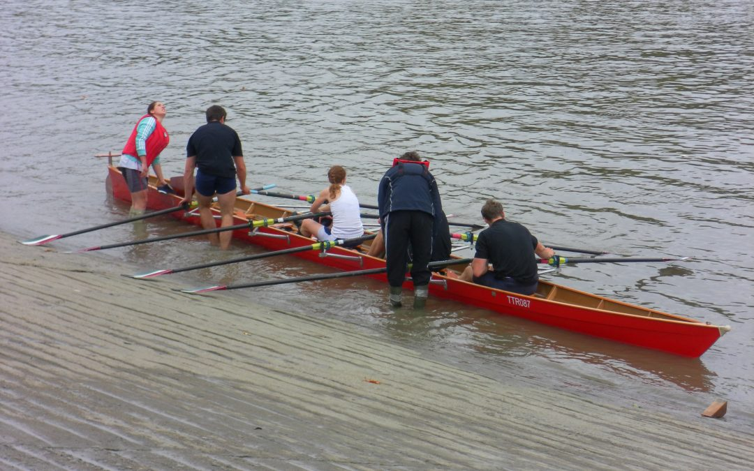 The one where I joined the GB rowers