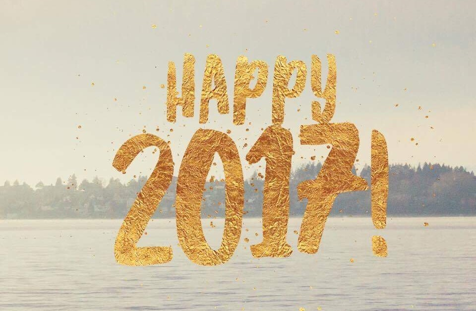 Happy 2017! Looking ahead to a new year