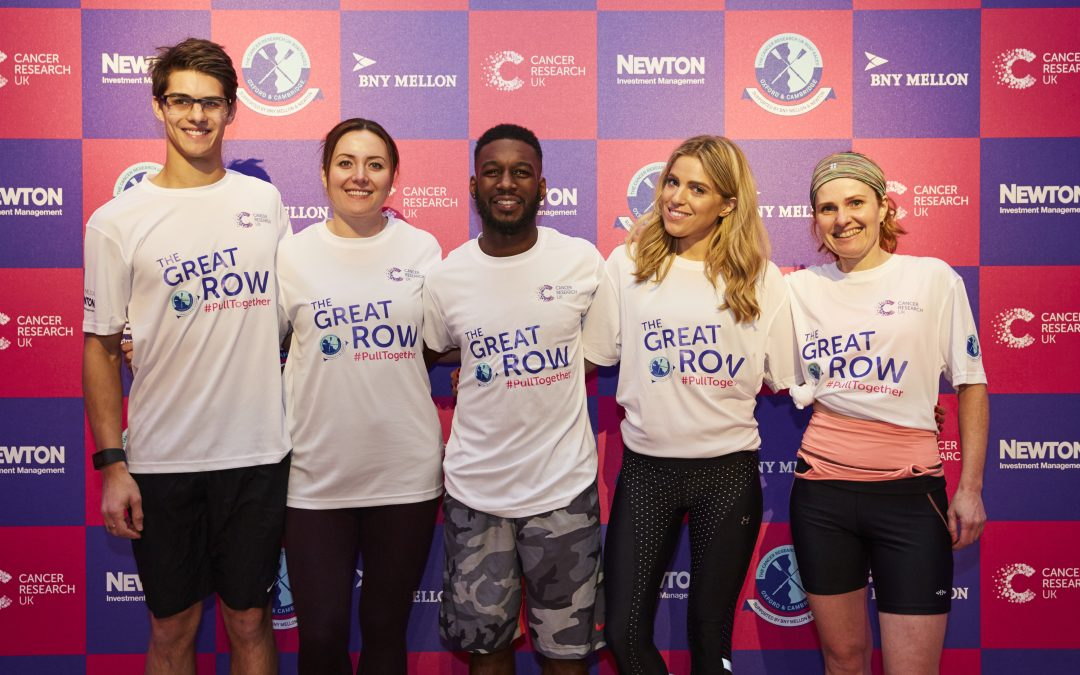 The Great Row – pulling together against cancer
