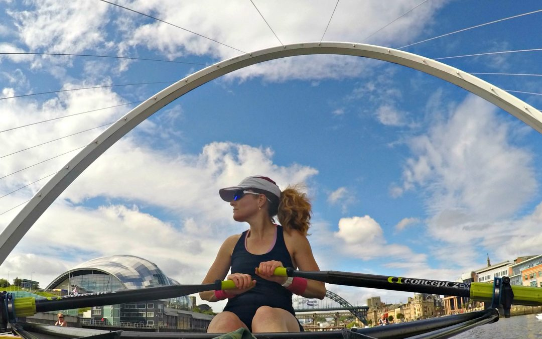 Tearing up the Tyne – the Tyne United Masters Single Sculling Camp