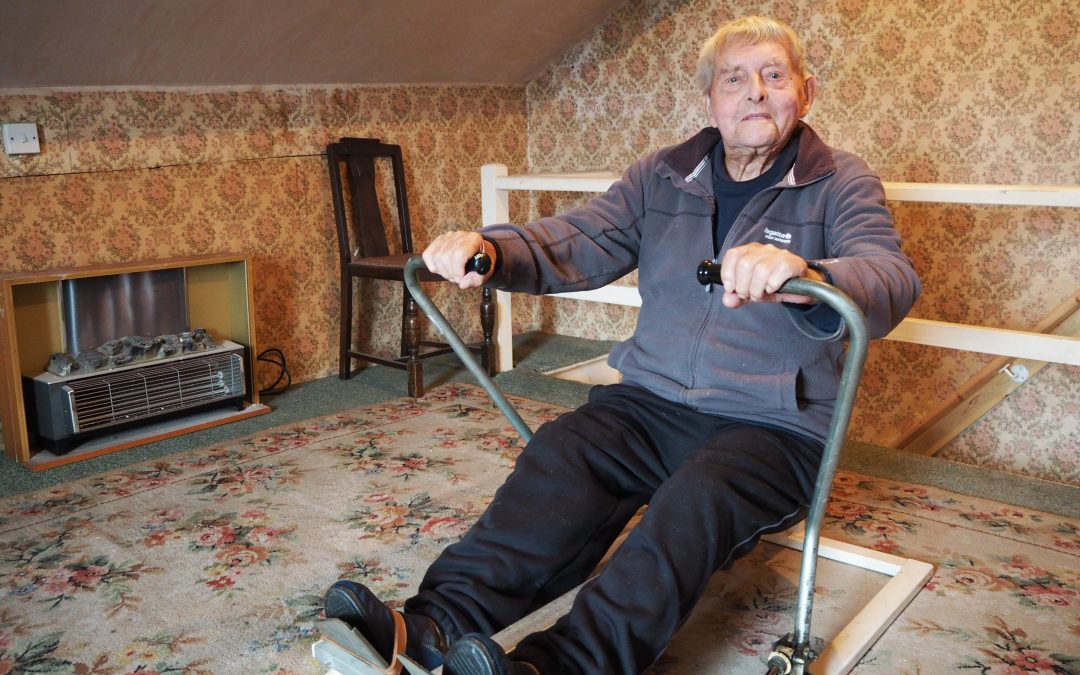 100 years old and still rowing – the amazing Arthur Jackson