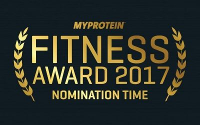 The Myprotein Fitness Awards – Girl on the River needs your votes!
