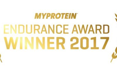 WINNER!!! The Myprotein Fitness Awards 2017