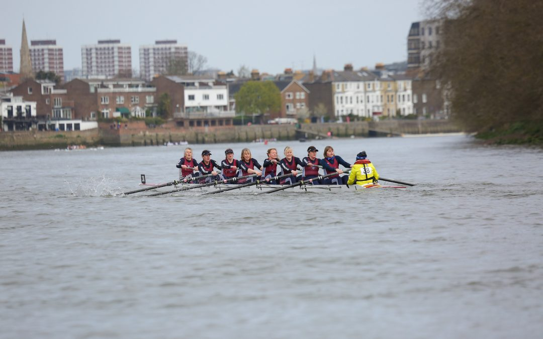 A survivor's guide to coxing the Tideway