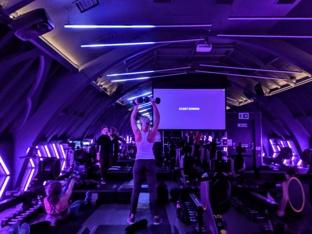 Engine Room studio London - indoor rowing classes