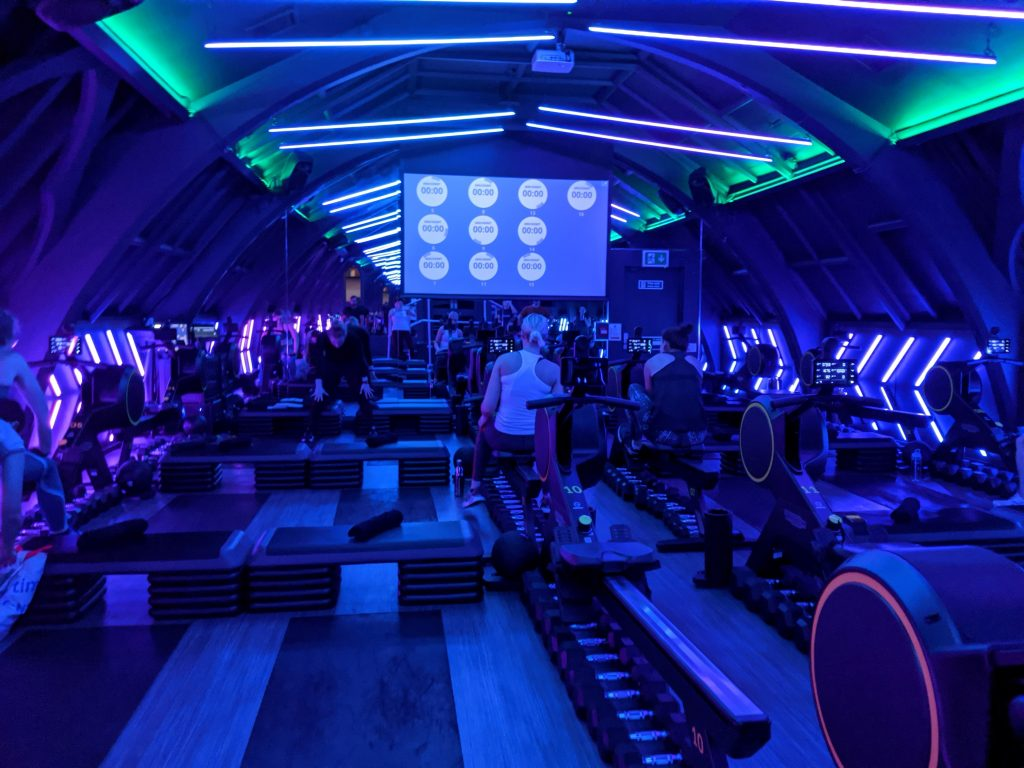 Indoor rowing classes London - Engine Room studio